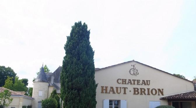 シャトー・オー・ブリオン ワイナリー訪問Chateau Haut Brion
